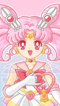 美少女战士 小小兔 粉色 动画