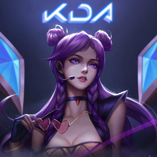 卡莎 英雄联盟 lol 手游 KDA女团 同人 原画