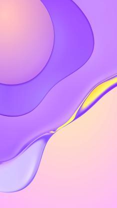 紫色 流动 线条 炫丽