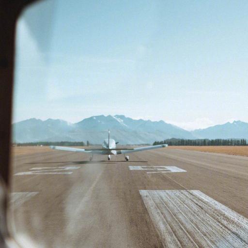 飞机 航空 跑道 线路 窗外