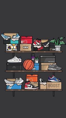 插图 潮鞋 品牌 时尚