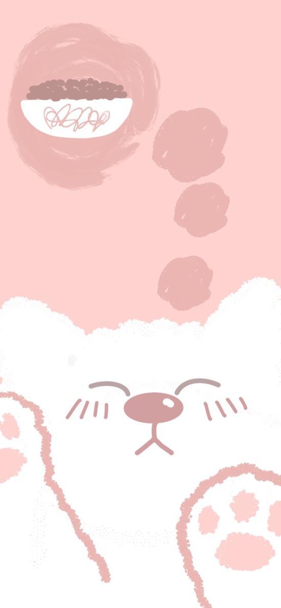 粉色 少女心 猫咪 猫爪 可爱