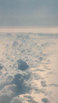 云海 高空 漂浮 云层
