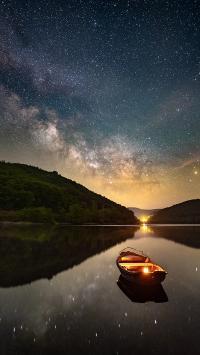 星空 夜晚 唯美 璀璨