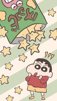 蜡笔小新 动画 五角星