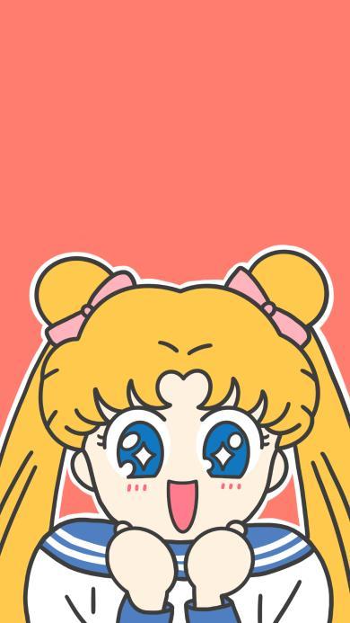 美少女战士 动画 卡通 可爱