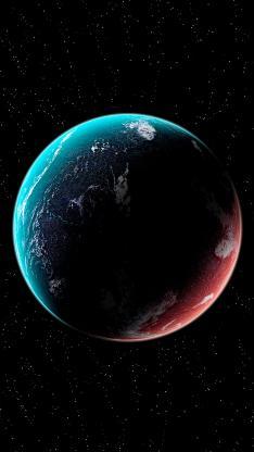星球 宇宙 太空 黑色