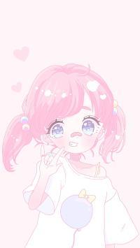动漫 少女 粉色 少女心 萝莉
