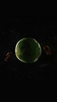 宇航员 包心菜 卷心菜 蔬菜 太空 摄影