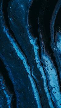 液体 蓝色 抽象 颜料