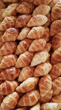 牛角包 面包 堆放 糕点
