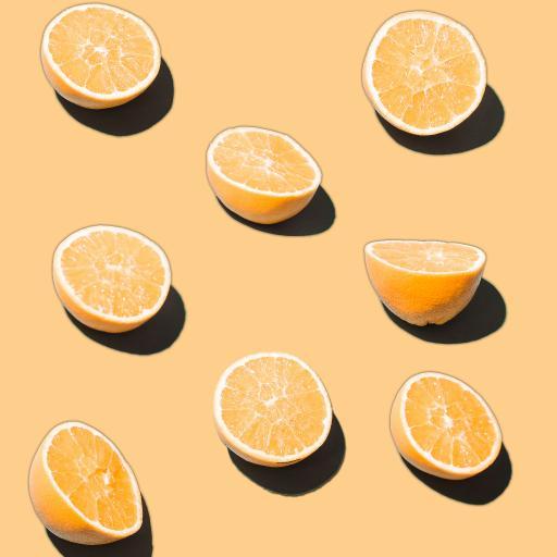水果 柠檬 切半 维C
