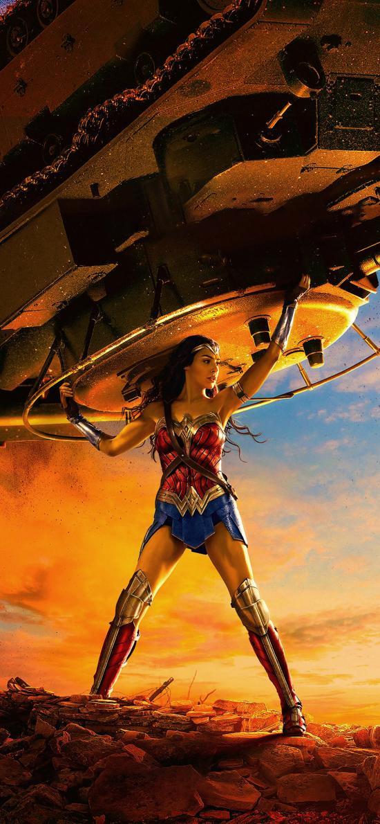 神奇女侠2 盖尔加朵 女神 戴安娜·普林斯 电影 海报