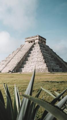 玛雅库库尔坎金字塔 景点 历史文明