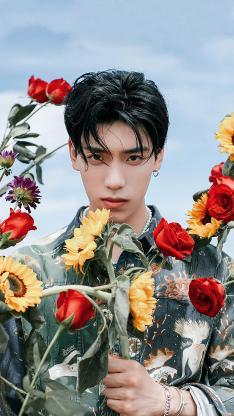 王子异 偶像 明星 艺人 时尚 鲜花