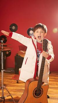 童模 男孩 吉他 写真