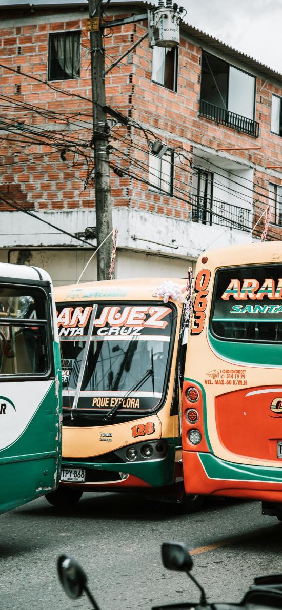 巴士 街道 城市 公共汽车 交通