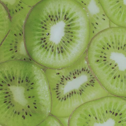 奇异果 泥猴桃 绿色 果肉 切片