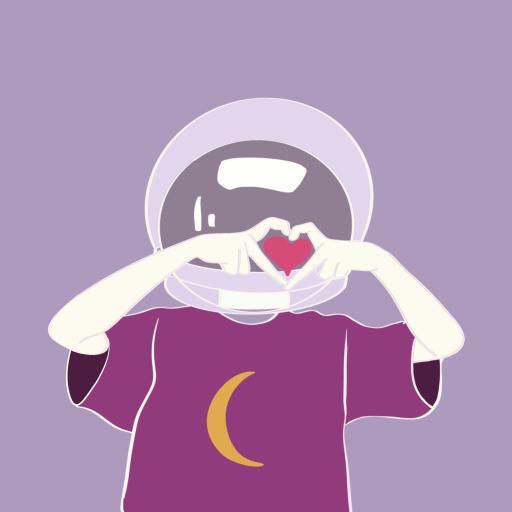 比心 情侣 爱情 爱心 手势 紫色