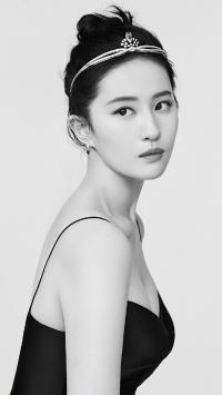 刘亦菲 演员 明星 艺人 钻石发箍