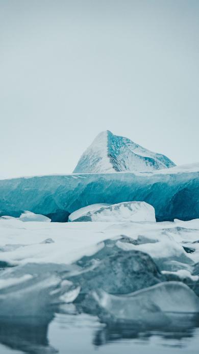 冰川 冰雪 寒冷 雪山