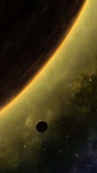 星球 宇宙 星空 太空 光