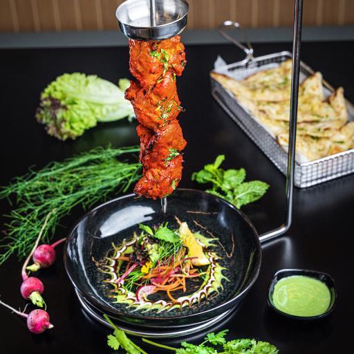 烤肉 蔬菜 香菜 沙拉
