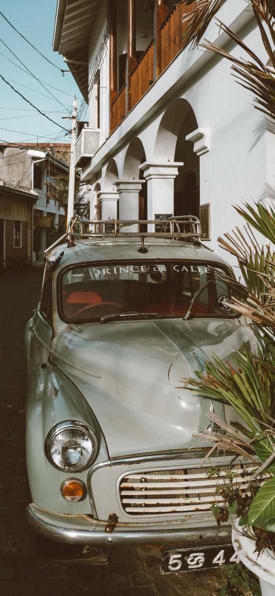 甲壳虫 汽车 老旧 街道 建筑