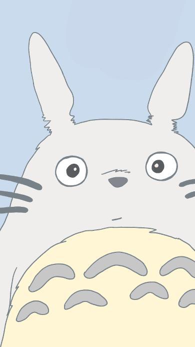 龙猫 可爱 卡通 宫崎骏