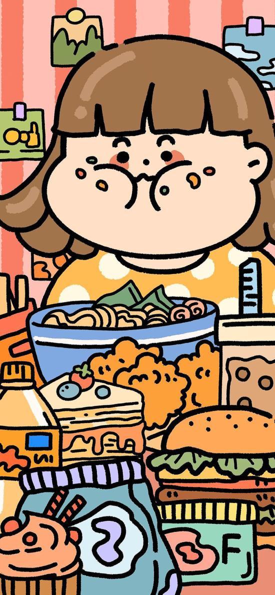 胖妹儿 美食 油炸 快餐