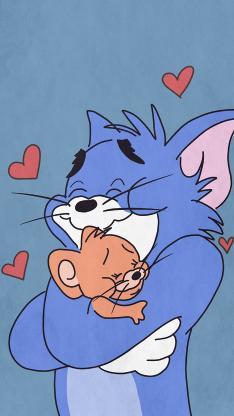 爱心 动画 汤姆 杰克 猫和老鼠