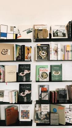 书架 书籍 书本 摆放 阅读