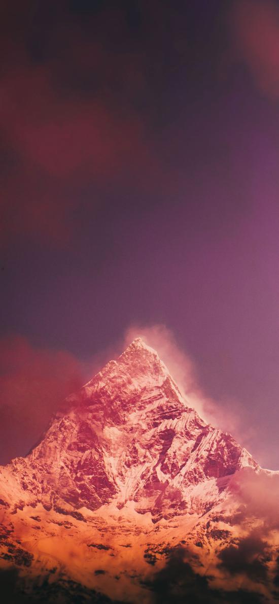 自然 山峰 雪山 壮观