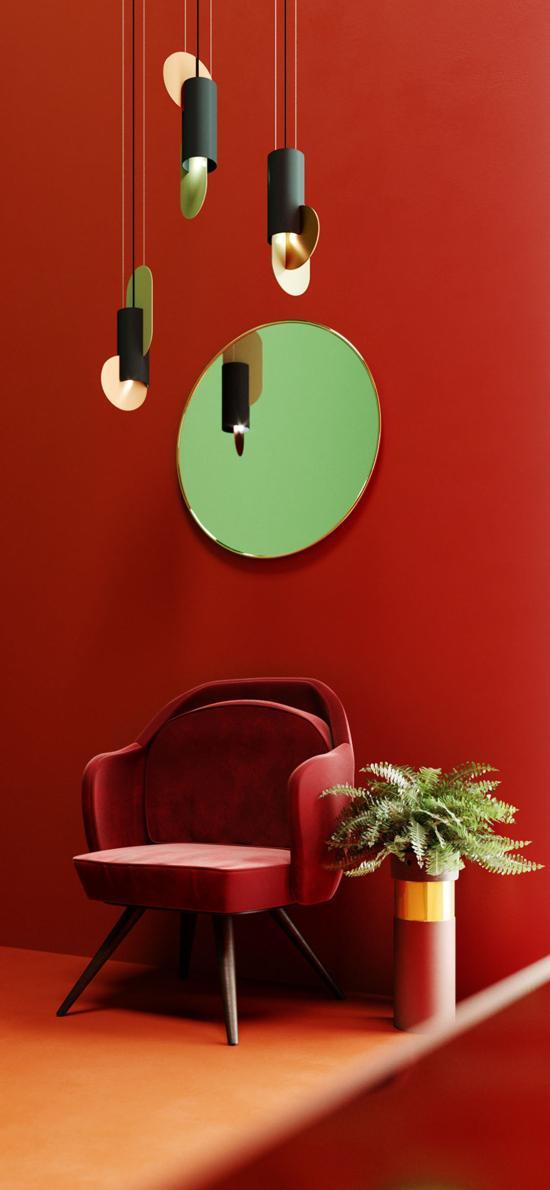 家居 设计 椅子 吊灯