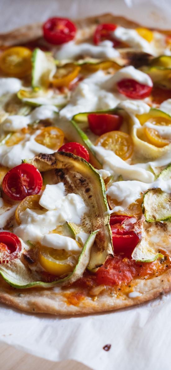 意式 披萨 番茄 芝士