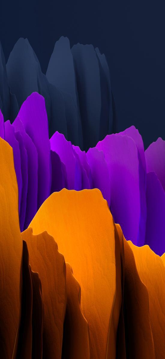 色彩 抽象 空间 立体
