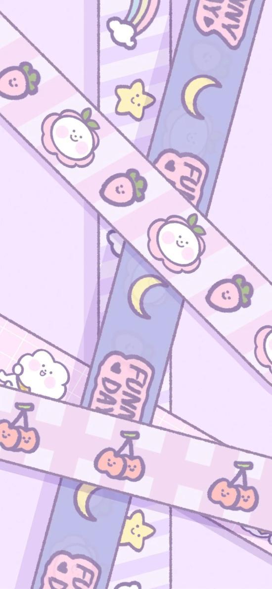 卡通 水果 草莓 樱桃