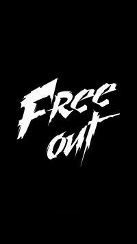 厂牌 团队 Free Out 黑白