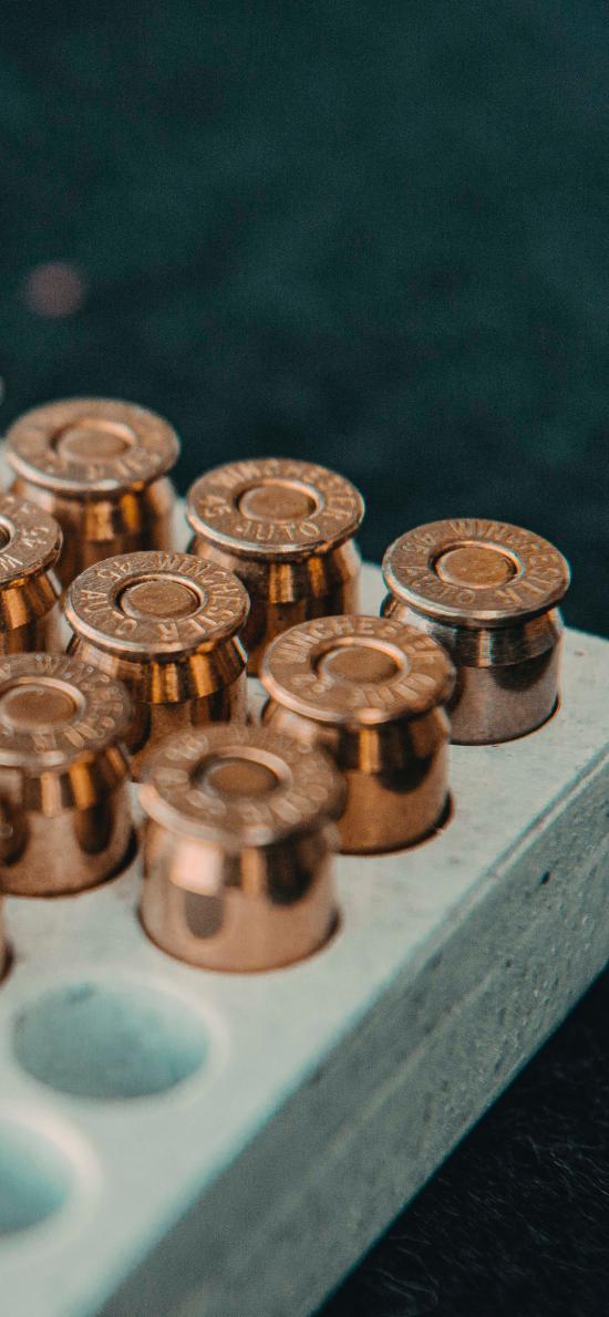 子弹 武器 金属 排列