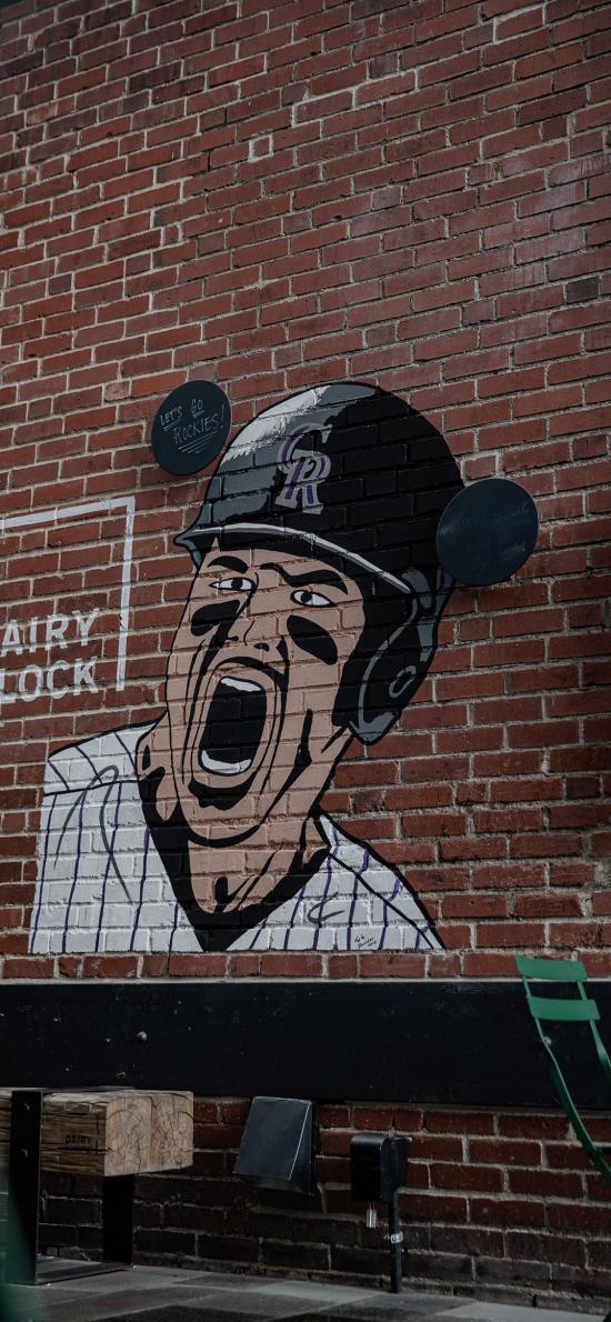 墙绘 欧美 人物 街头艺术