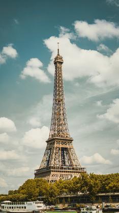 埃菲尔铁塔 法国 地标 建筑