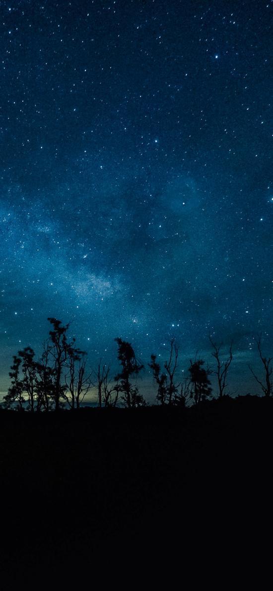 星空 夜晚 夜空 天空