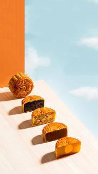 传统美食 糕点 月饼 中秋节