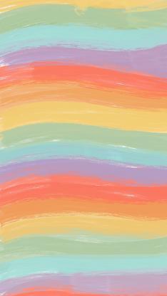 色彩 渐变 层叠 彩虹