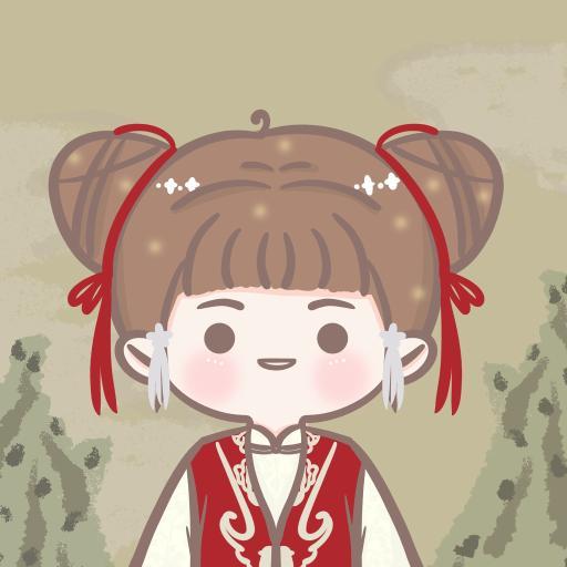 手游 江南百景图 丽娘 卡通