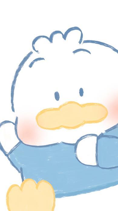 鸭子 可爱 简约 三丽欧
