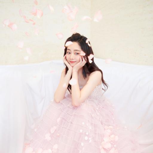 谭松韵 演员 明星 艺人 花瓣