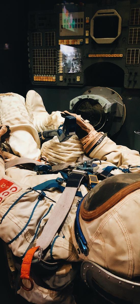 宇航员 太空服 航空 天文 机舱