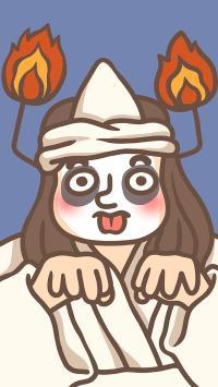 万圣节 鬼相 卡通 湘琴