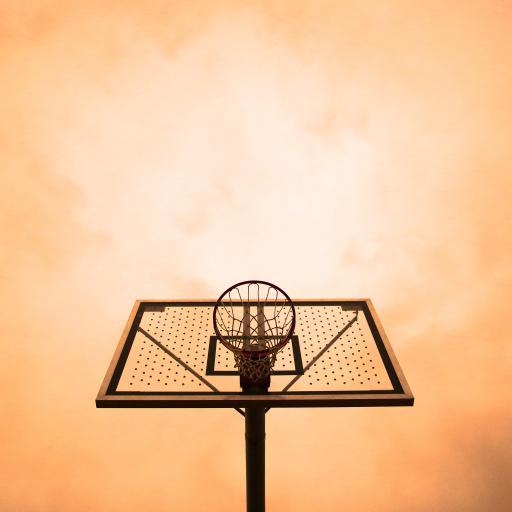 篮球 球框 球架 天空 运动